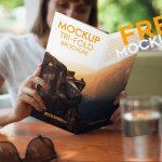 Tri-Fold Brochure – Free PSD Mockup