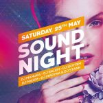Sound Night Party - Download Free PSD Flyer