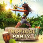 Tropical Party – Download Free PSD Flyer