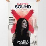 Electro Sound - Free PSD Flyer