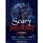 Scary Halloween - Free PSD Flyer