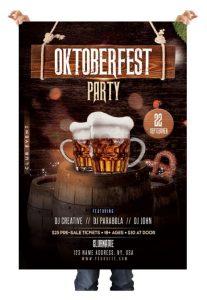Oktoberfest – Free PSD Flyer