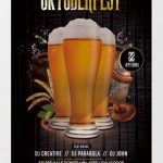 Oktoberfest Party – Free PSD Flyer