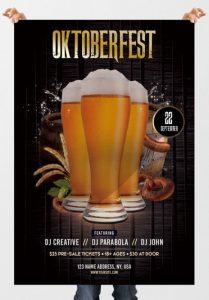 Oktoberfest Party – Free PSD Flyer