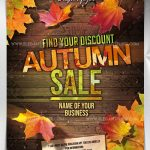 Autumn sale – Free PSD Flyer
