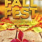 Fall Fest - Free PSD Flyer