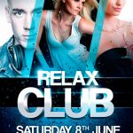 Relax Club Flyer - Download Free PSD Flyer