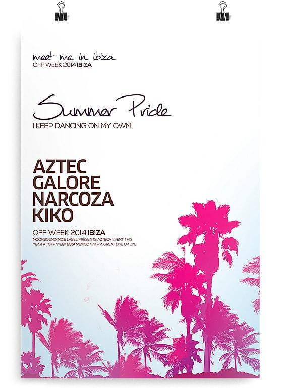 Palms Summer Flyer – Free PSD Flyer