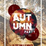 Autumn Party – Free PSD Flyer
