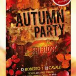 Autumn Party #2 – Free PSD Flyer