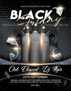 Black Friday 2018 – Free PSD Flyer