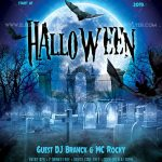 Halloween - Free PSD Flyer