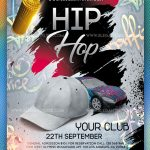 Hip Hop – Free PSD Flyer Template