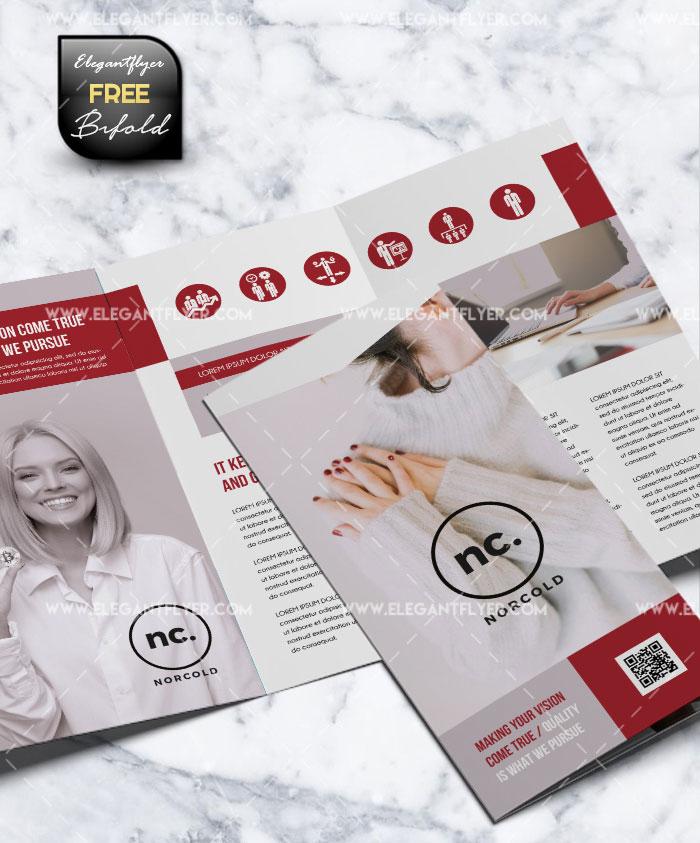 Tri-Fold Brochure#3 Free PSD Brochure