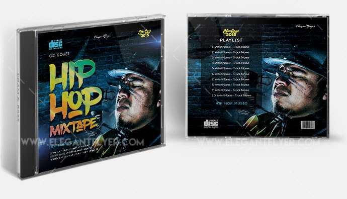 Hip Hop Mixtape Free PSD Template