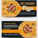 Pizza Gift Voucher – Free PSD Template