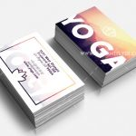 Yoga Business Card – Free PSD Template