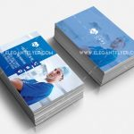 Health Care Card – Free PSD Template