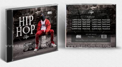 Hip Hop Mixtape#2 Free PSD Template
