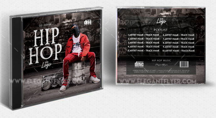 Hip Hop Mixtape#2 – Free PSD Template