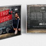Retro CD Cover Free PSD Template