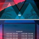 House Party CD – Free PSD Template