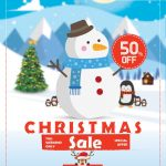 Christmas Sale - Free PSD Flyer