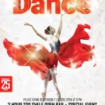 Dance Party - Free PSD Flyer Template