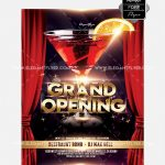 Grand Opening #2 – Free PSD Flyer Template