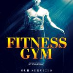 Fitness Gym #2 Free PSD Flyer Template