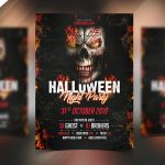 Halloween Night – Free PSD Flyer Template