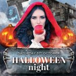 Halloween Party Free PSD Flyer