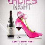 Ladies Night #2 Free PSD Flyer Template