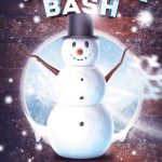 Winter Snowman Bash Free PSD Flyer Template