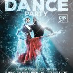 Winter Dance - Free PSD Flyer Template