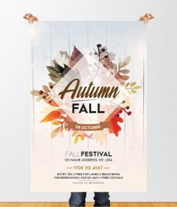 Fall Festival – Free PSD Flyer