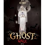 Ghost Walk Halloween – Free PSD Flyer