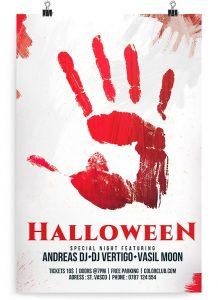 Halloween Flyer – Free PSD Flyer