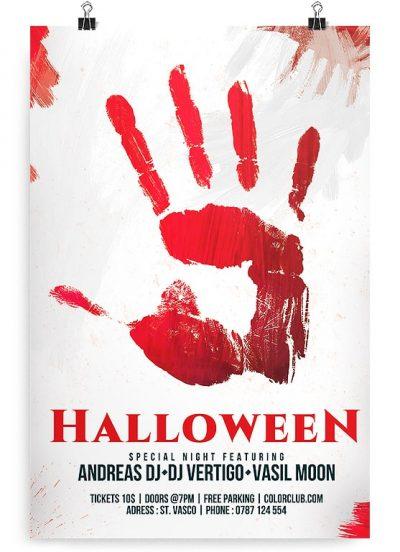 Halloween Flyer Free PSD Flyer