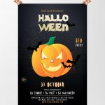 Halloween Party #4 Free PSD Flyer