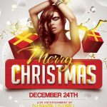 Merry Xmas - Free PSD Flyer Template