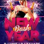 New Year Bash - Free PSD Flyer Template