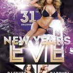 New Years Eve Free PSD Flyer Template