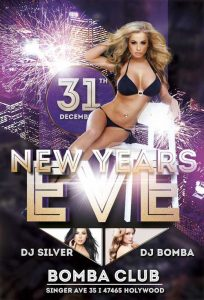 New Years Eve – Free PSD Flyer Template