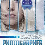 Winter Photographer Free PSD Flyer Template