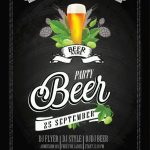 Beer Fest #2 Free PSD Flyer Template