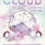 In Cloud - Free PSD Flyer Template