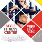 Fitness - Free PSD Flyer Template