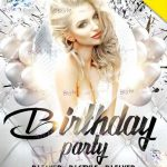 Birthday Party - Free PSD Flyer