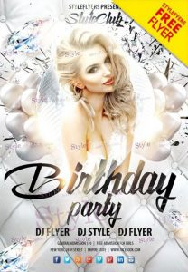 Birthday Party – Free PSD Flyer